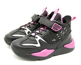 Кроссовки W.niko 36 Розово-черный 9009 pink - 36 22,5 см, КОД: 1077220