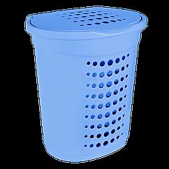 Корзина для белья 60 л Синий, КОД: 395439