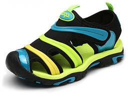 Сандалии детские Coga blue and green 29 AN020 Разноцветный hubLZVz34878, КОД: 1081990