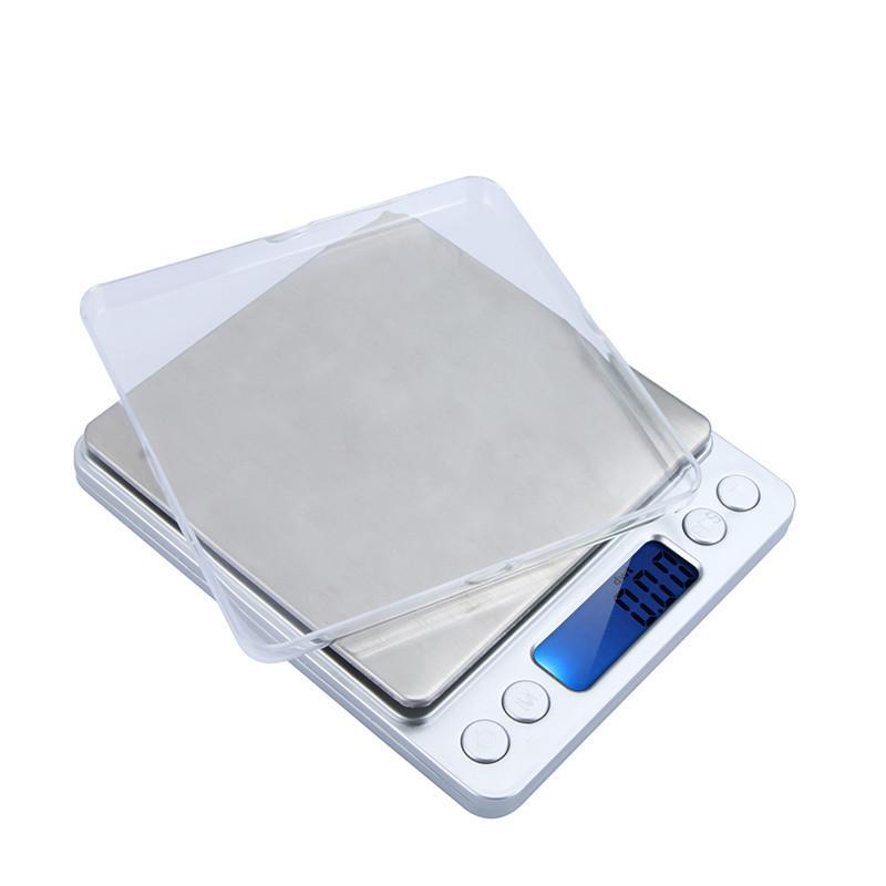 Весы ювелирные электронные 2000g   0.1g Серый 1em001935, КОД: 897662