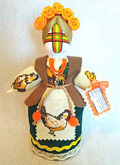 Кукла-мотанка КЛЮЙ Берегиня Полина 17см Разноцветная K0046PO, КОД: 385384