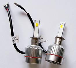 Светодиодные лампы для автомобиля UKC H4 4500-5000 К 9-36 V, КОД: 371262
