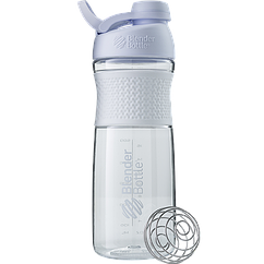 Спортивная бутылка-шейкер BlenderBottle SportMixer Twist 820 ml White Twist 28oz White, КОД: 977499