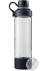 Спортивная бутылка-шейкер BlenderBottle Mantra Glass Black стекло 600 мл, КОД: 977568