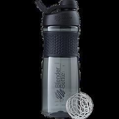 Спортивная бутылка-шейкер BlenderBottle SportMixer Twist 820 ml Black, КОД: 977679