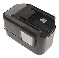 Аккумулятор для шуруповерта AEG B9.6 2.1Ah 9.6V Черный 437382, КОД: 1098859