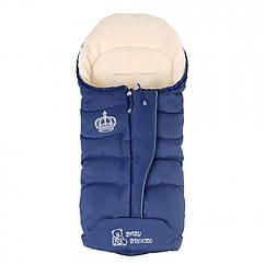 Конверт на овечьей шерсти Baby Breeze Синий 0358S, КОД: 1002364