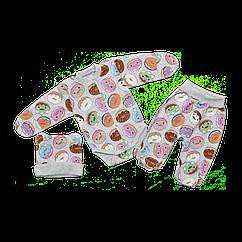 Комплект Dexters Пончик 62 см Серый d9351 1, КОД: 1061170