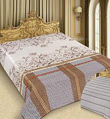 Покрывало Love You Barokko Cream 220х240 см Коричнево-бежевый psgLY-15-015-3, КОД: 944340