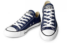 Кеды Конверс классические 40 Синие, КОД: 1086061