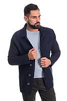 Трикотажный пиджак SVTR 52 Темно-синий 389, КОД: 274585