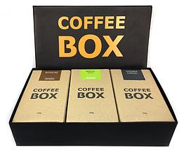 Подарочный набор кофе Coffee Box 3 750 г hubJHkj68054, КОД: 367023
