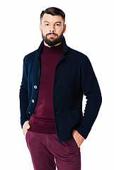 Мужская кофта-пиджак SVTR 50 Темно-синий 390, КОД: 1067467