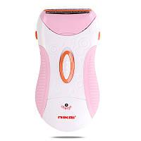 Бритва-эпилятор Nikai NK-7699 Бело-розовый gr007406, КОД: 915866