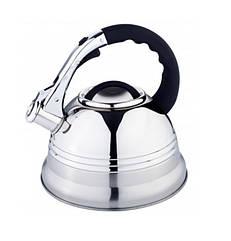Чайник Edenberg со свистком 3 л Стальной EB1957B, КОД: 948086