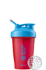 Спортивный шейкер BlenderBottle Classic Loop 590 ml Sonic Red Blue, КОД: 977676
