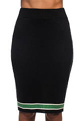 Трикотажная юбка SVTR 44-46 Черный 423, КОД: 1070497