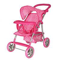 Коляска для куклы Kronos Toys 9366 T 018 прогулочная Розовая int9366, КОД: 961698