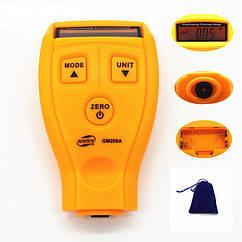 Автомобильный толщиномер лакокрасочного покрытия и краски цифровой G-M REka44, КОД: 1065449
