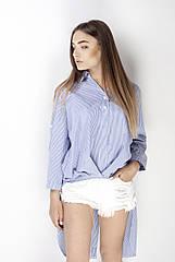 Рубашка Shabash S-M Голубой в полоску SH-00001038-S-M, КОД: 728787