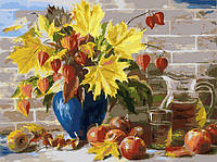 Картина по номерам Белоснежка Сентябрь 30х40 см RN 356, КОД: 1058461