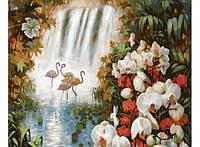 Картина по номерам Белоснежка Райский сад 30х40 см RN 359, КОД: 1058515