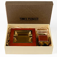 Подарочный набор для мужчины пепельница и зажигалка RN 219, КОД: 912435