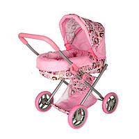 Коляска для куклы Kronos Toys 9369 82100 Розовая int9369, КОД: 961407