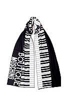 Шарф Moschino Boutique Черно-белый 30582, КОД: 190842