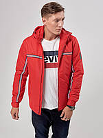 Мужская демисезонная куртка Riccardo Т2 50 Red 2rc02550, КОД: 715214