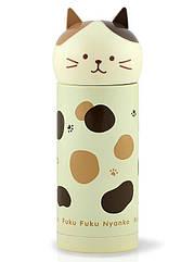 Термос Fissman Cat Fuku 250 мл Бежевый psgFN-VA-9688, КОД: 945511