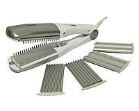 Утюжок для выпрямления волос 3 в 1 А-Плюс 1547, КОД: 310774