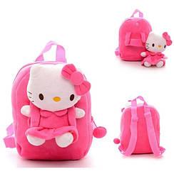 Рюкзак детский Hello Kitty со съемной игрушкой PAIKBQG1241 Розовый gabkrp210ocEb45415, КОД: 916325