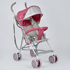Коляска детская JOY 108 S Красно-серый 3547971, КОД: 316912