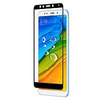 Защитное стекло Guard 5D for Xiaomi Redmi 5 Black 066855, КОД: 223533