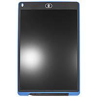 Графический планшет Lesko LCD Writing Tablet 12 Blue 2681-9115, КОД: 1074398