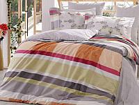 Комплект постельного белья Hobby 4702 Евро Поплин 200х220 см Разноцветный psgSA-4702, КОД: 944396