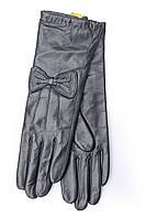 Женские кожаные перчатки M Черный 729s2, КОД: 189079