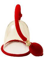 Вакуумный массажер Seven Creations Красный, КОД: 280640