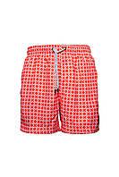 Пляжные шорты мужские IslandHaze Cell XХL Коралловый isl0050, КОД: 1048805
