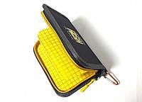 Кошелек для блесен KIBAS Angry Fish Yellow L KS41051, КОД: 110409