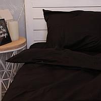 Комплект постельного белья Хлопковые Традиции Евро 200x220 Черный PF036евро, КОД: 353852