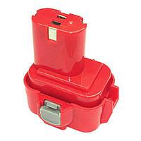 Аккумулятор для шуруповерта Makita 192638-6 3.0Ah 9.6V Красный 676766, КОД: 1098808