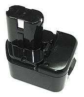 Аккумулятор для шуруповерта Hitachi EB 1212S 3.3Ah 12V Черный 543632, КОД: 1098871