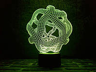 Светильник 3D 3DTOYSLAMP Онис, КОД: 385798