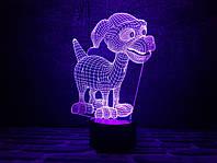 Светильник 3D 3DTOYSLAMP Дружок, КОД: 385843