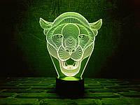Светильник 3D 3DTOYSLAMP Пума, КОД: 386002