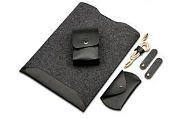 Чехол из войлок для MacBook Air Pro 13 Retina Black, КОД: 396217