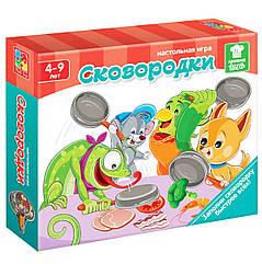Игра на скорость Сковородки укр Vladi Toys VT2309-01 tsi43266, КОД: 700226