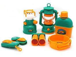 Туристический набор Fudaer FDE833 Camp Set 6 предметов Зелено-оранжевый tsi55598, КОД: 314887
